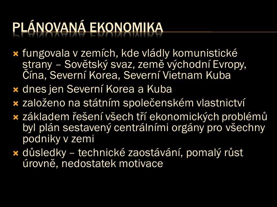 Plánovaná ekonomika