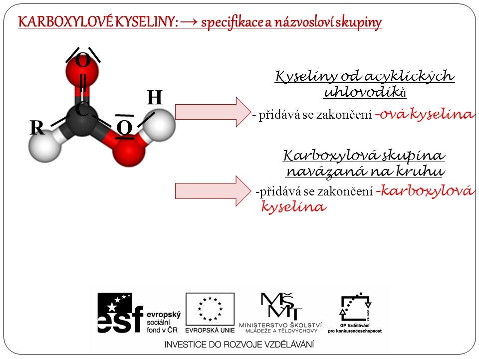 Kyseliny od acyklických
