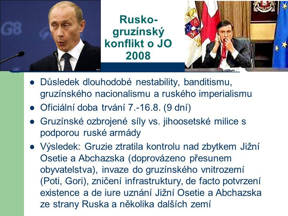 Rusko-gruzínský konflikt o JO 2008