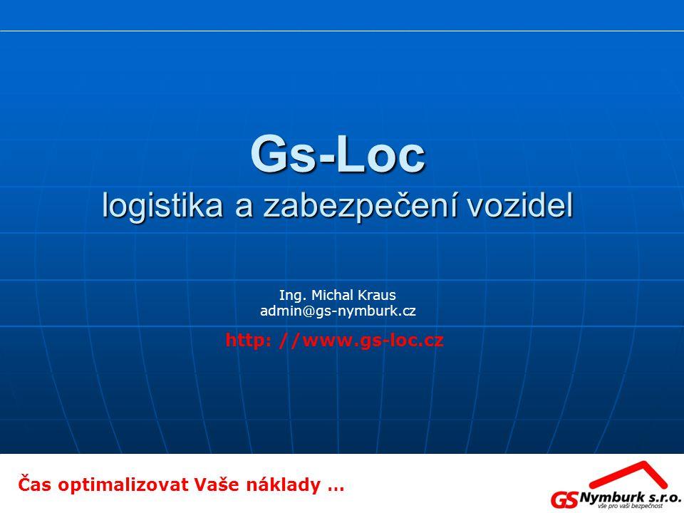 Gs-Loc logistika a zabezpečení vozidel