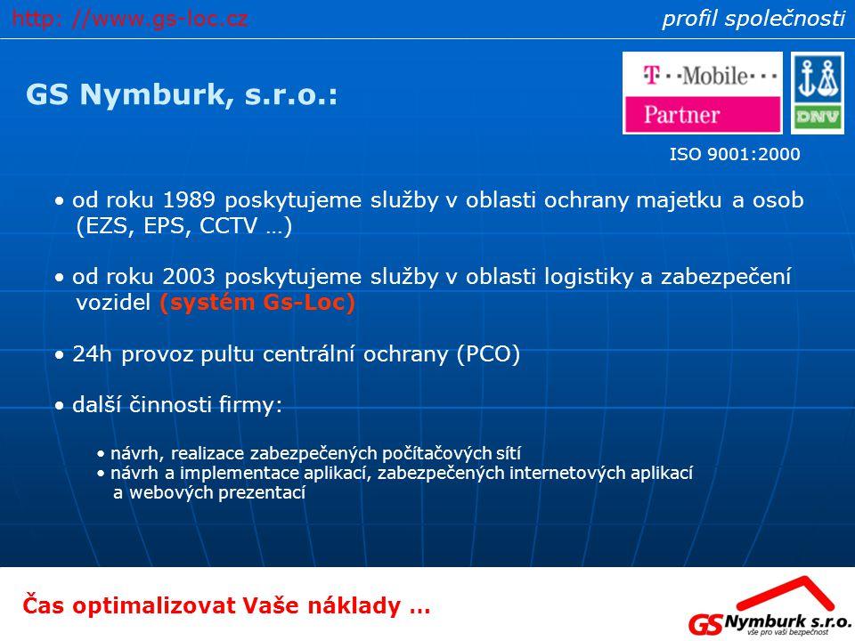 GS Nymburk, s.r.o.: http: //www.gs-loc.cz profil společnosti