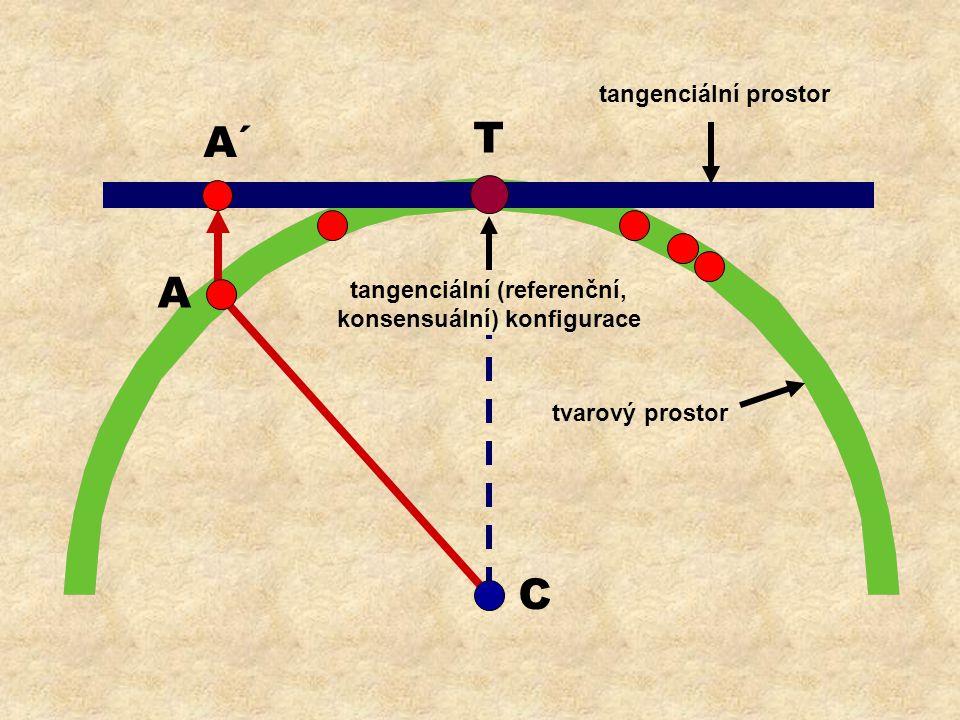 tangenciální (referenční, konsensuální) konfigurace