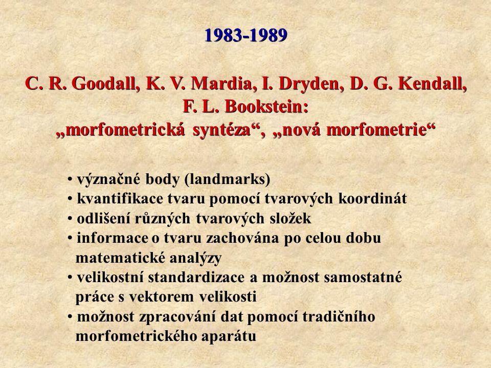 C. R. Goodall, K. V. Mardia, I. Dryden, D. G. Kendall,