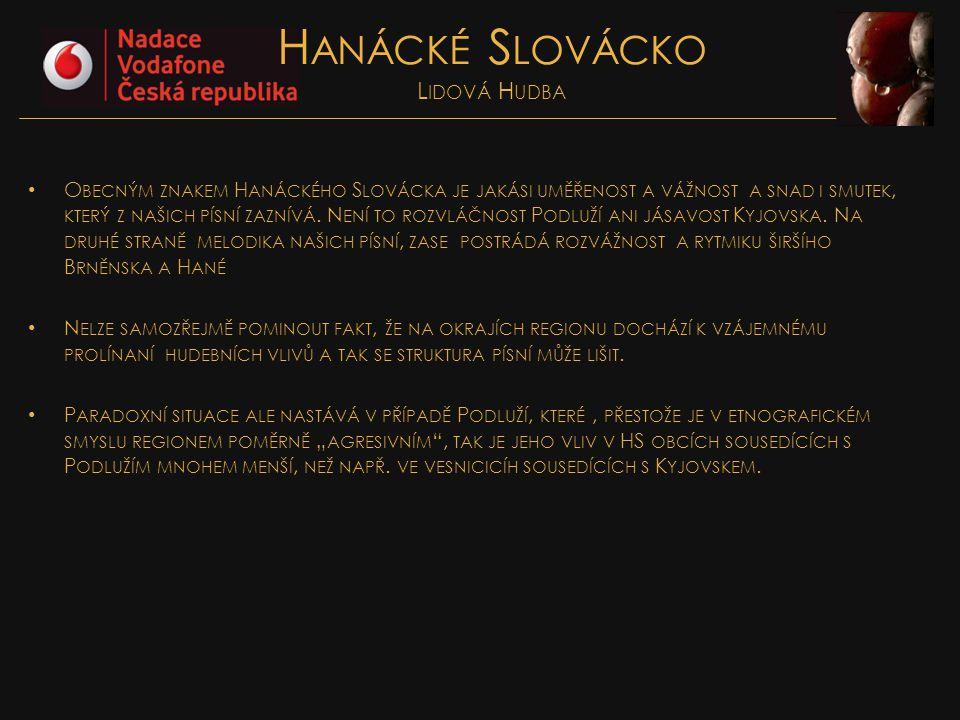 Hanácké Slovácko Lidová Hudba