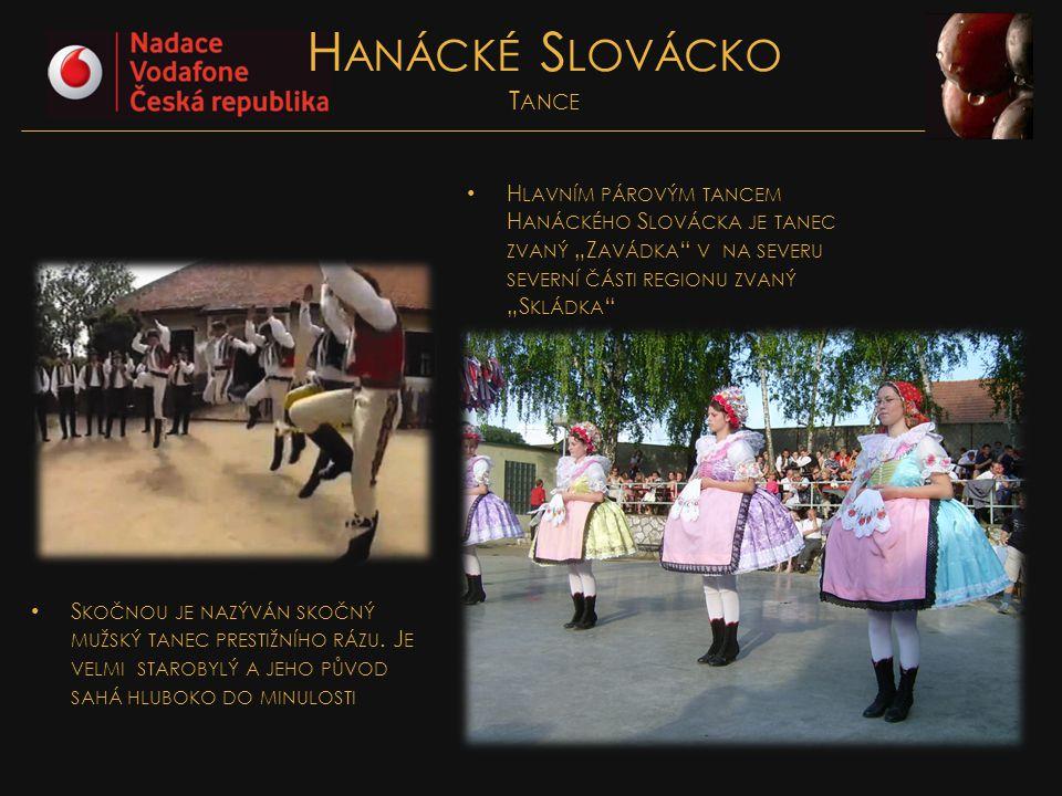 Hanácké Slovácko Tance
