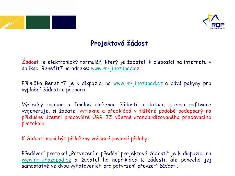 17. 6. 2014 Projektová žádost.