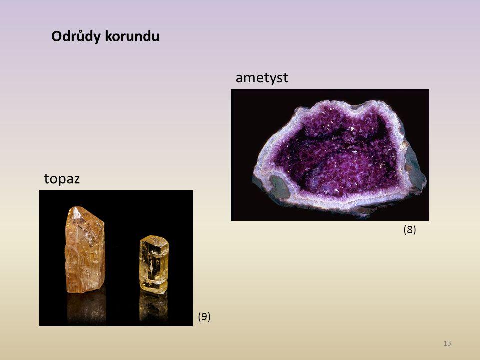 Odrůdy korundu ametyst topaz (8) (9) 13