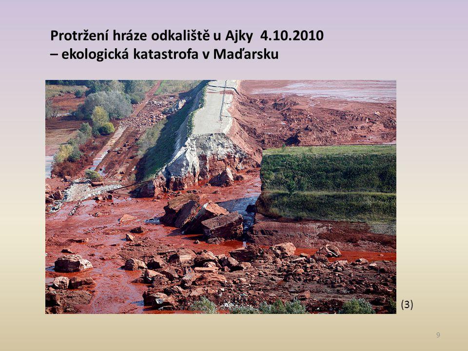 Protržení hráze odkaliště u Ajky 4.10.2010