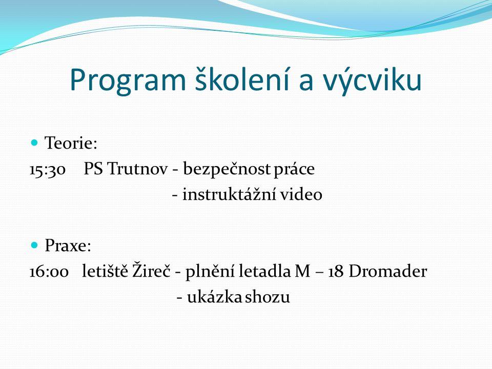 Program školení a výcviku