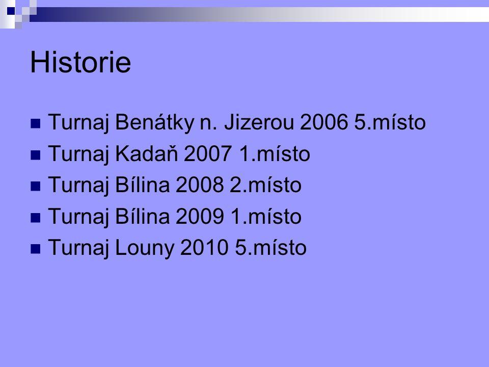 Historie Turnaj Benátky n. Jizerou 2006 5.místo