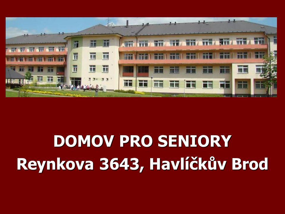 DOMOV PRO SENIORY Reynkova 3643, Havlíčkův Brod