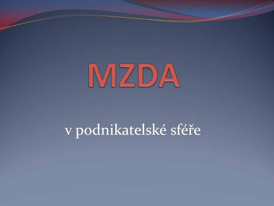 MZDA v podnikatelské sféře