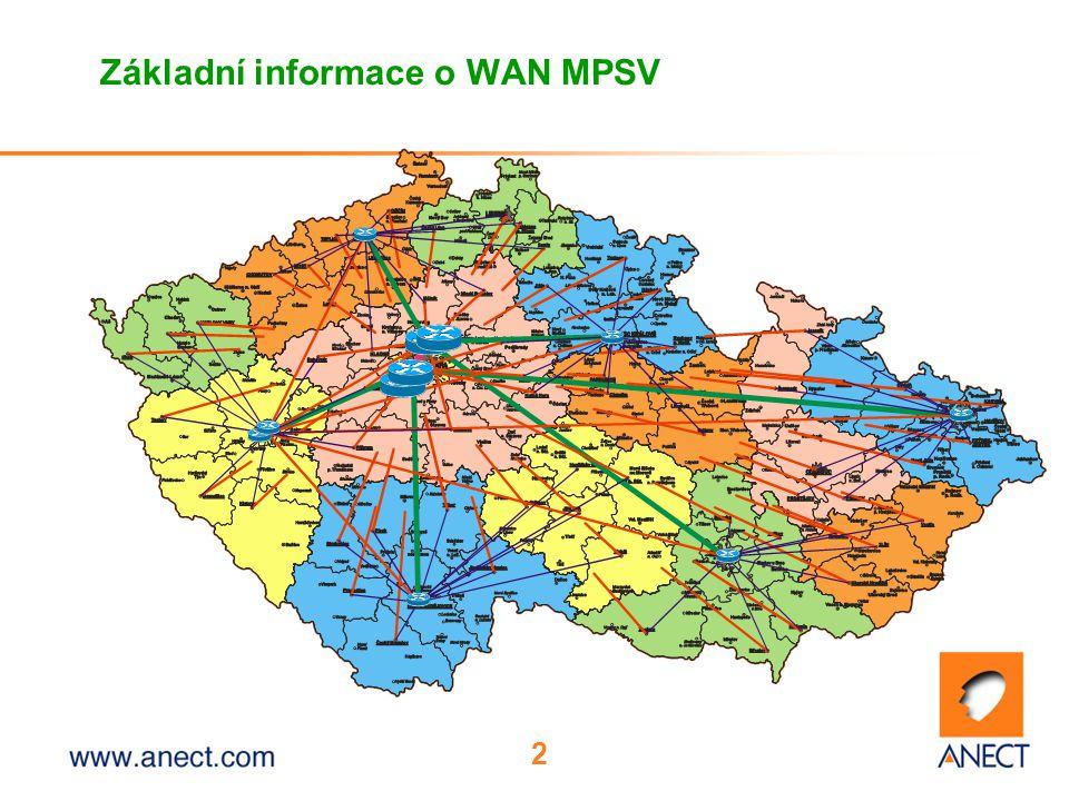 Základní informace o WAN MPSV