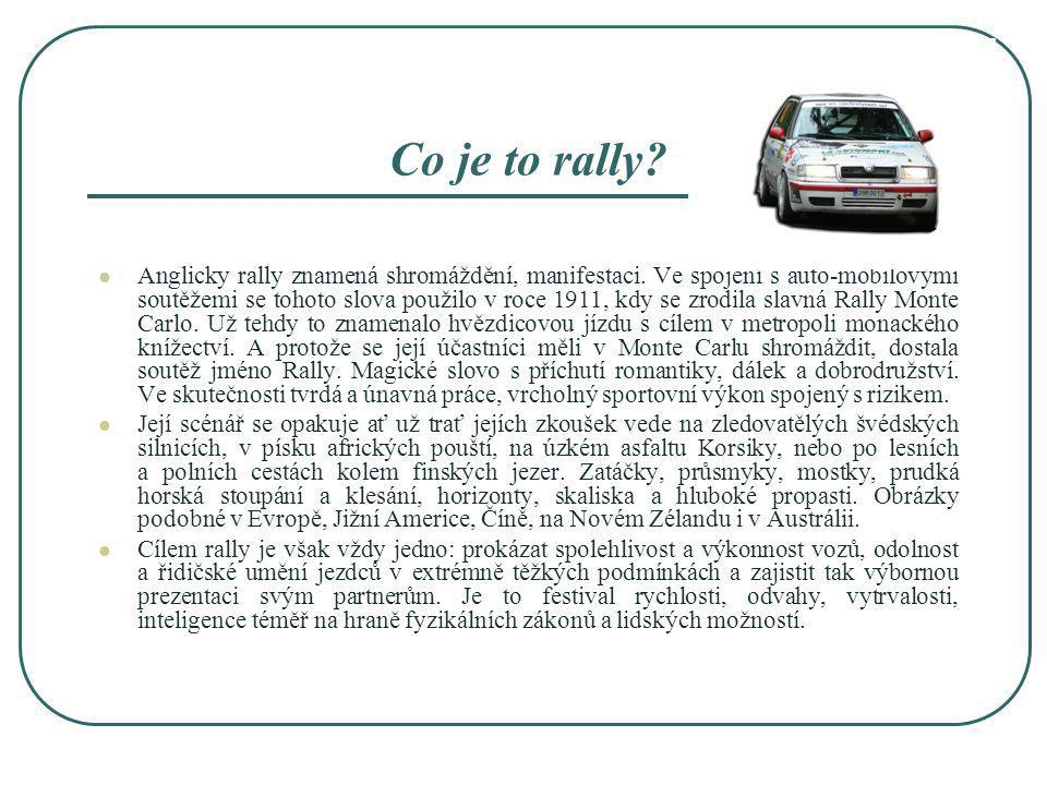 Co je to rally