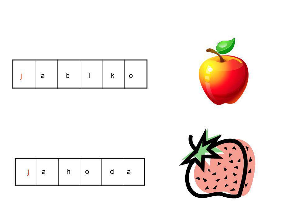 j a b l k o j a h o d a