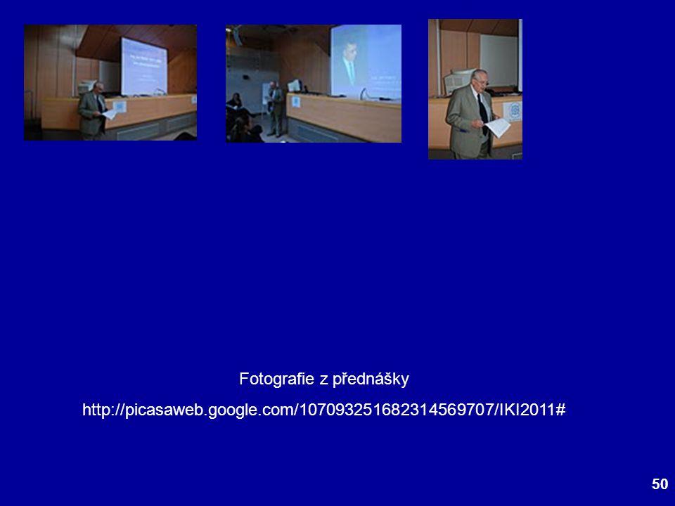 Fotografie z přednášky