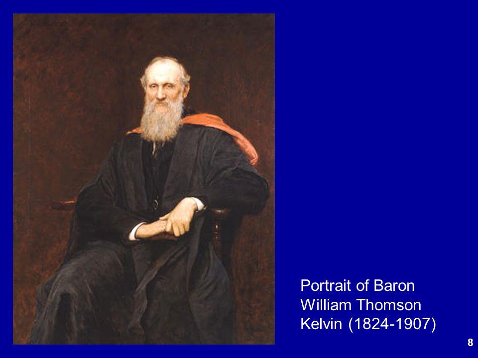 Portrait of Baron William Thomson Kelvin (1824-1907)