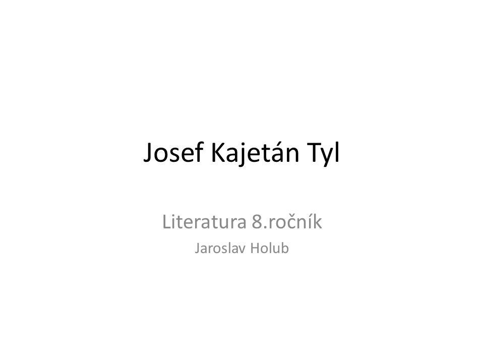 Literatura 8.ročník Jaroslav Holub