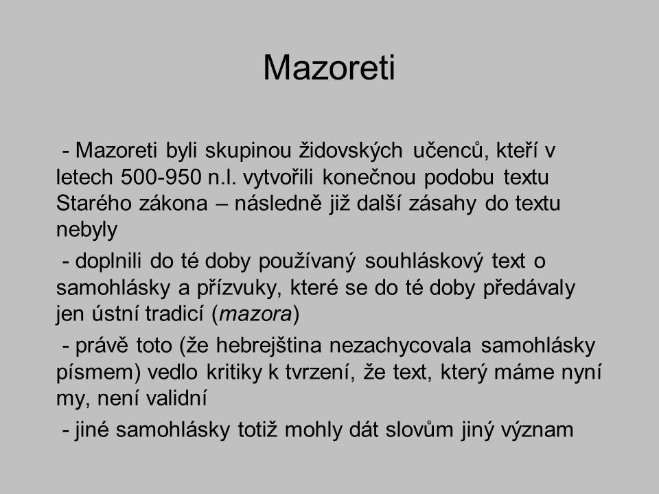 Mazoreti