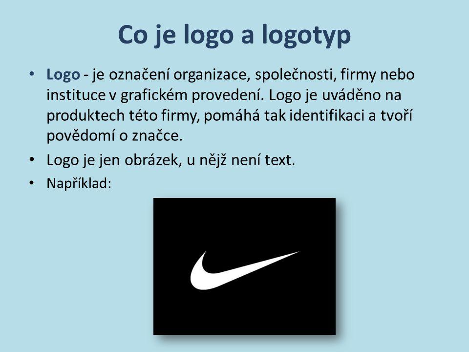 Co je logo a logotyp