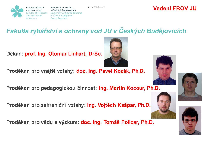 Fakulta rybářství a ochrany vod JU v Českých Budějovicích