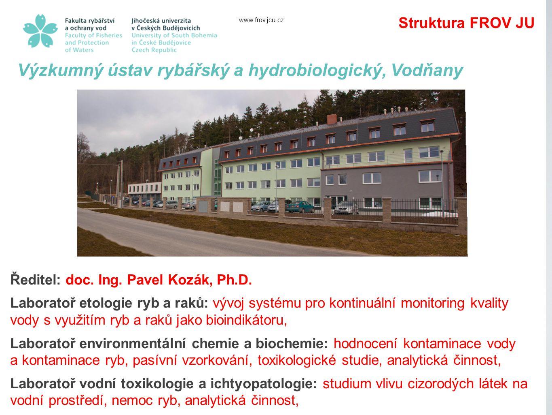 Výzkumný ústav rybářský a hydrobiologický, Vodňany