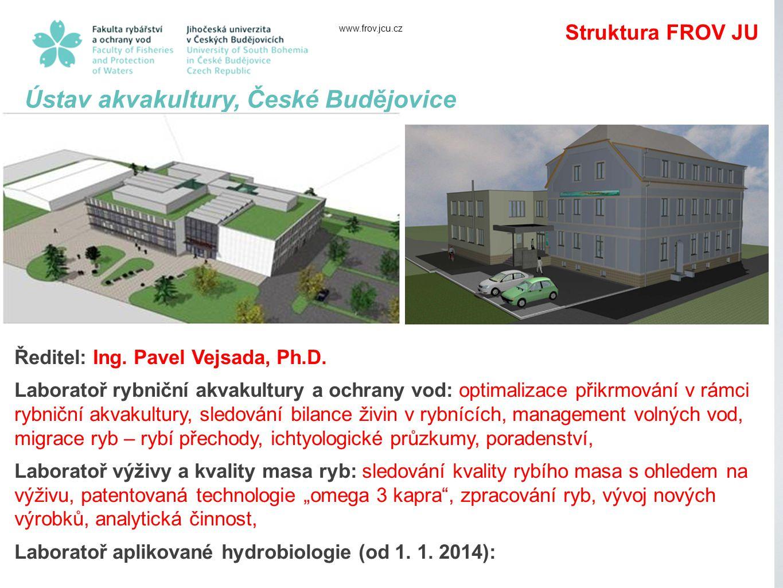 Ústav akvakultury, České Budějovice