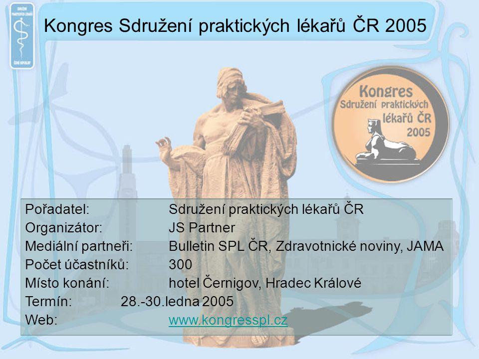 Kongres Sdružení praktických lékařů ČR 2005
