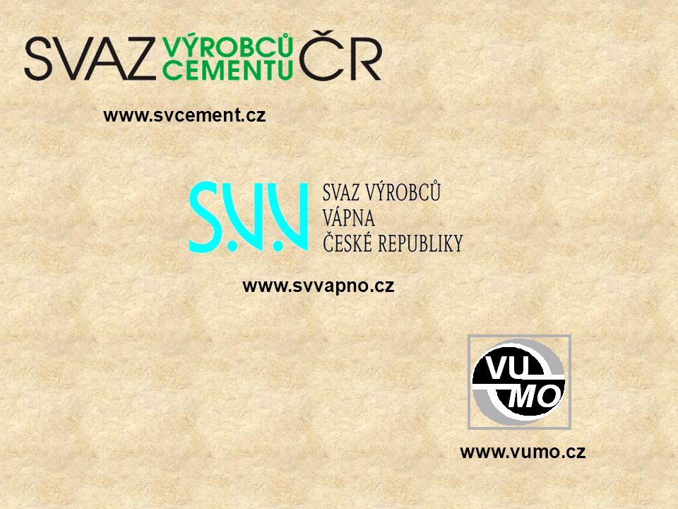 www.svcement.cz www.svvapno.cz www.vumo.cz