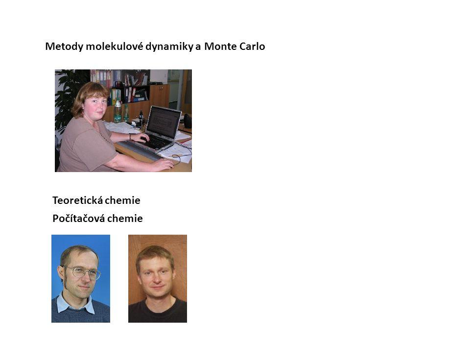 Metody molekulové dynamiky a Monte Carlo