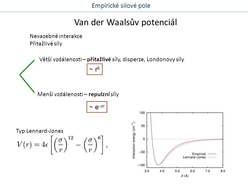 Van der Waalsův potenciál