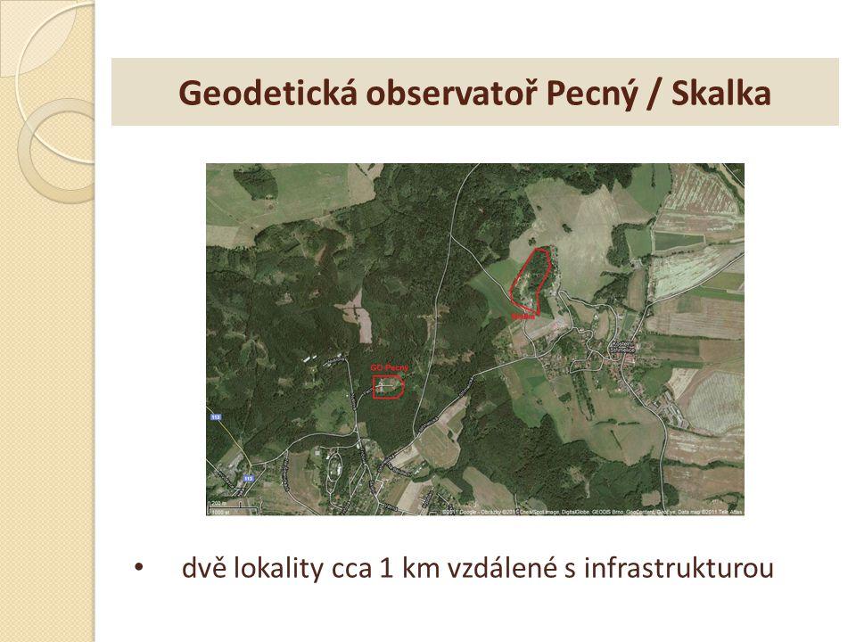 Geodetická observatoř Pecný / Skalka