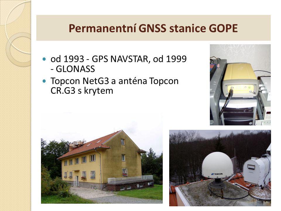 Permanentní GNSS stanice GOPE