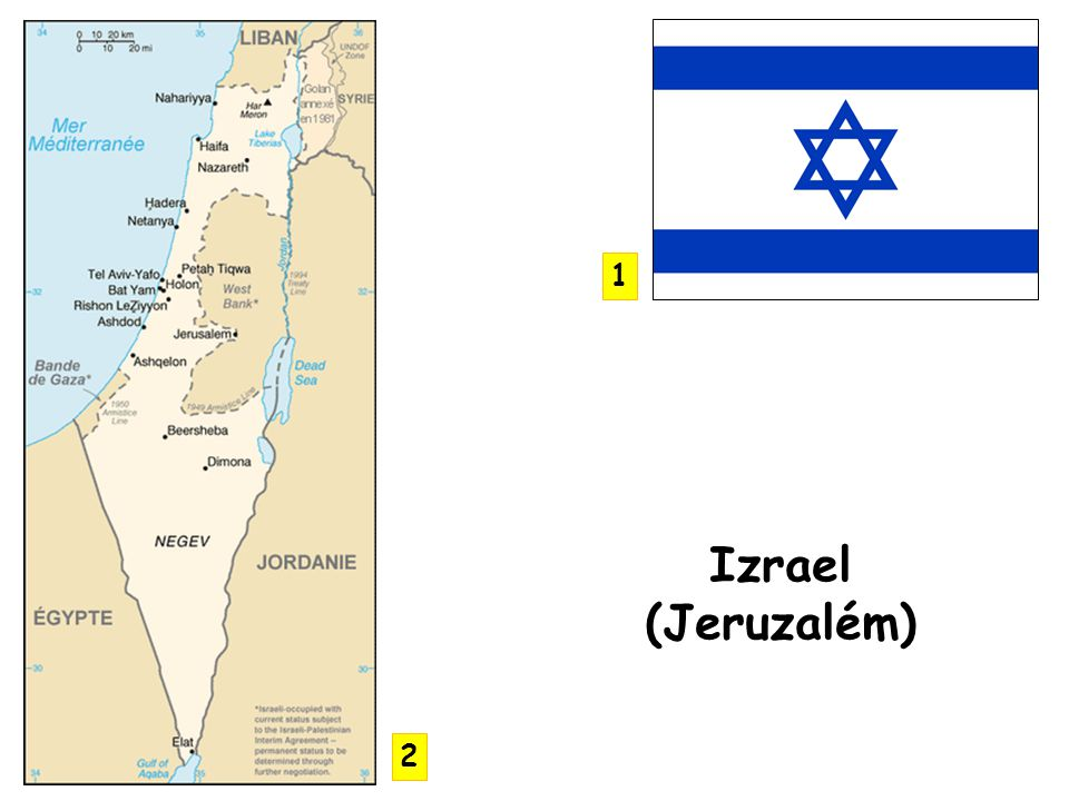 1 Izrael (Jeruzalém) 2