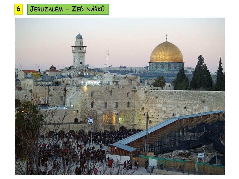 6 Jeruzalém – Zeď nářků