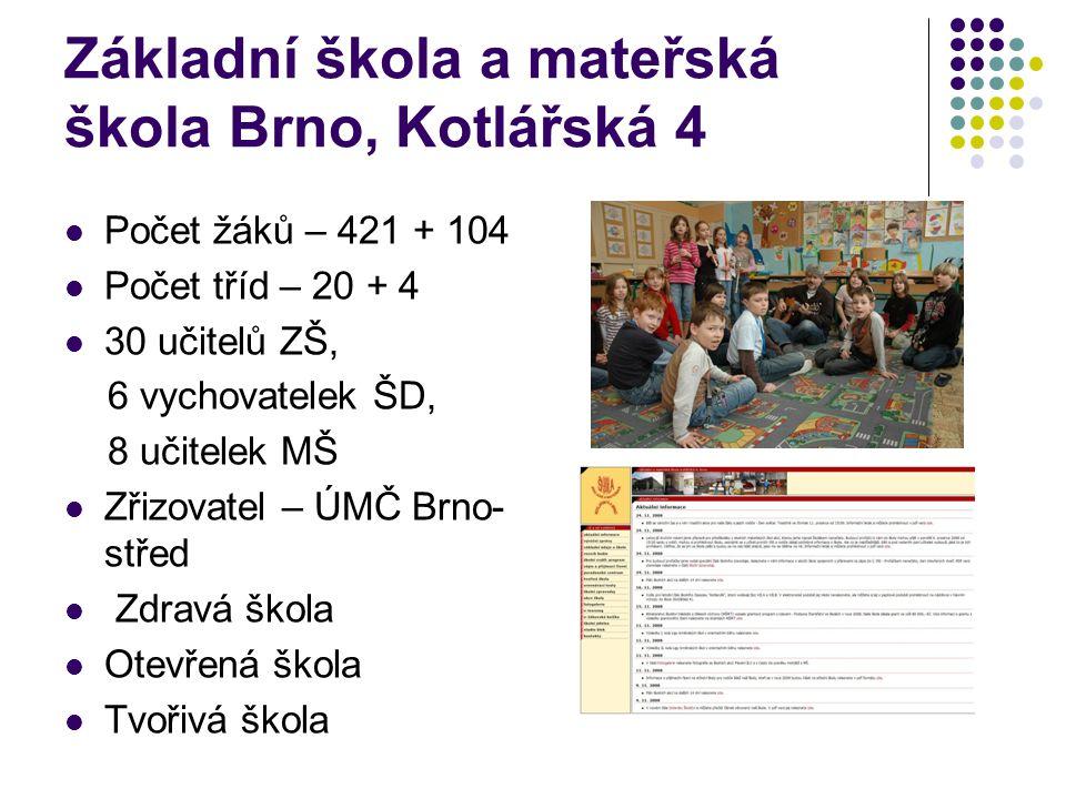 Základní škola a mateřská škola Brno, Kotlářská 4