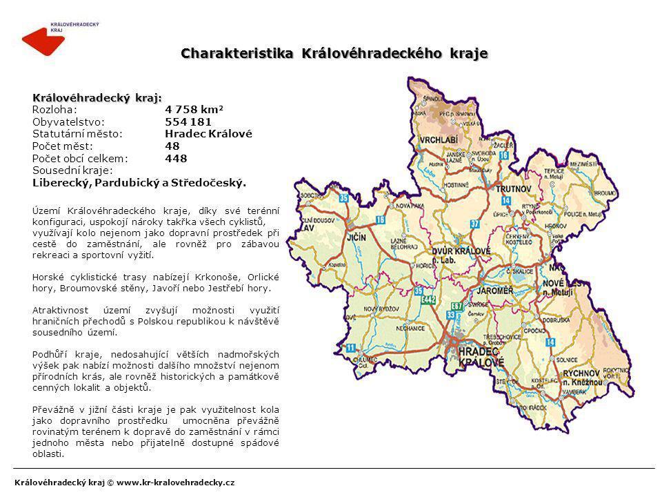 Charakteristika Královéhradeckého kraje