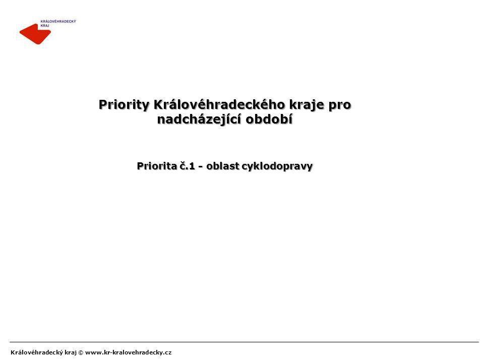 Priority Královéhradeckého kraje pro nadcházející období