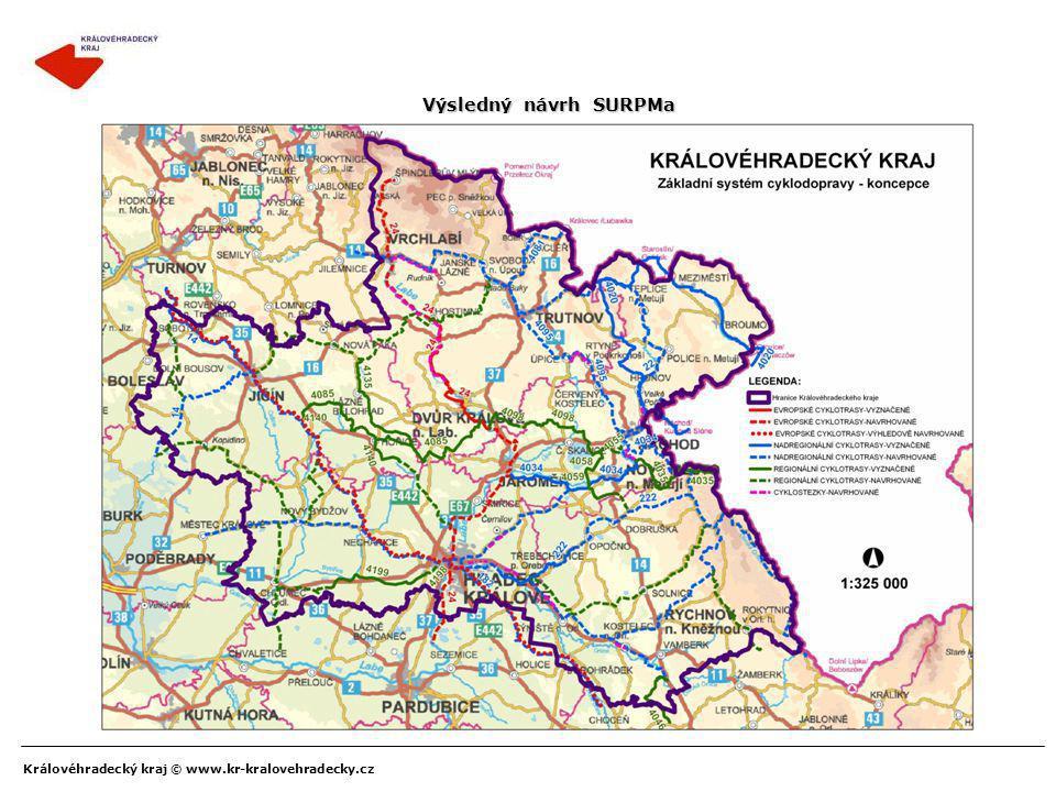 Koncepce cyklodopravy KHK kraje a její základní systém - II
