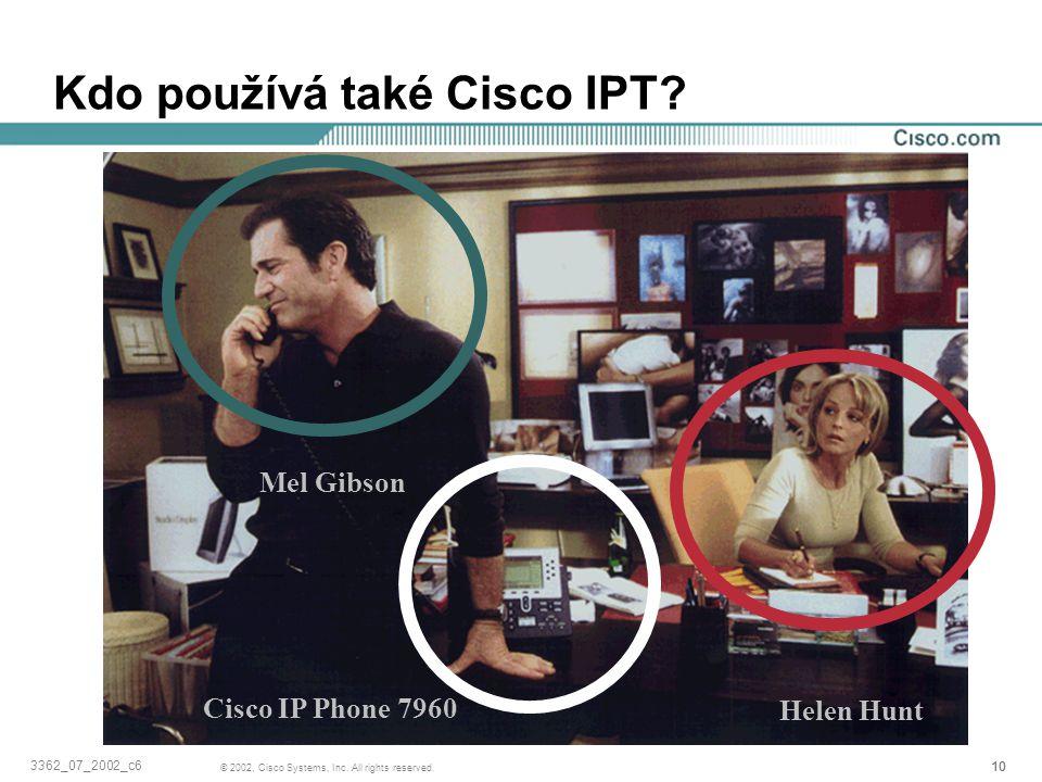 Kdo používá také Cisco IPT