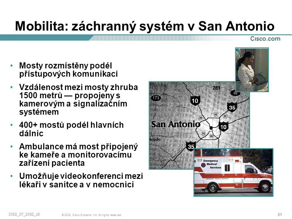 Mobilita: záchranný systém v San Antonio