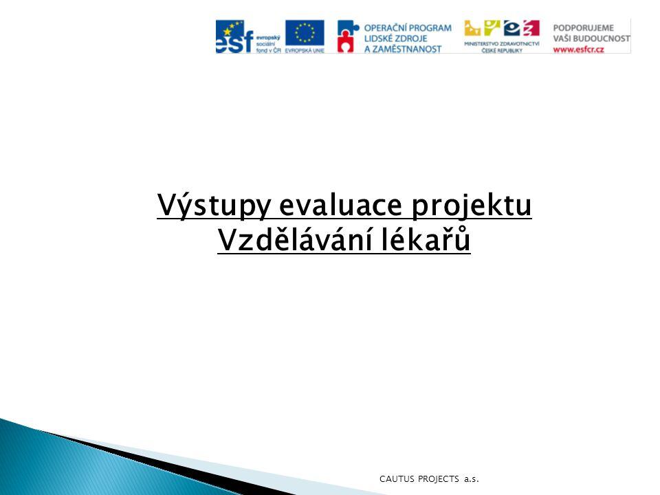 Výstupy evaluace projektu