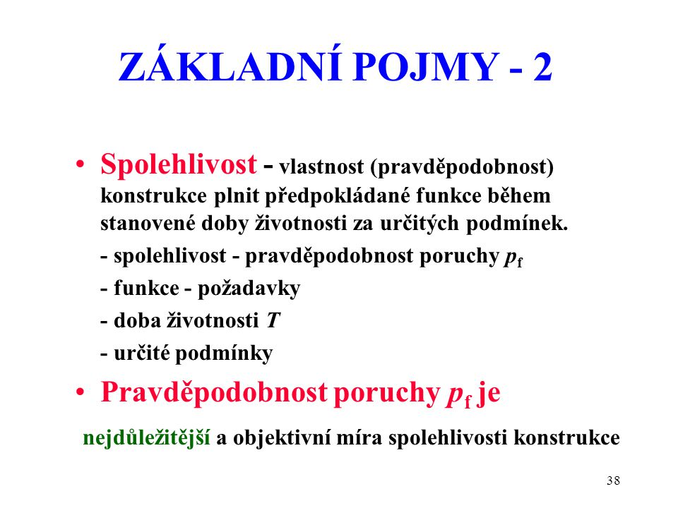 ZÁKLADNÍ POJMY - 2