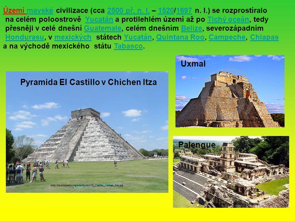 Pyramida El Castillo v Chichen Itza