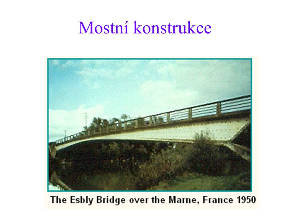 Mostní konstrukce