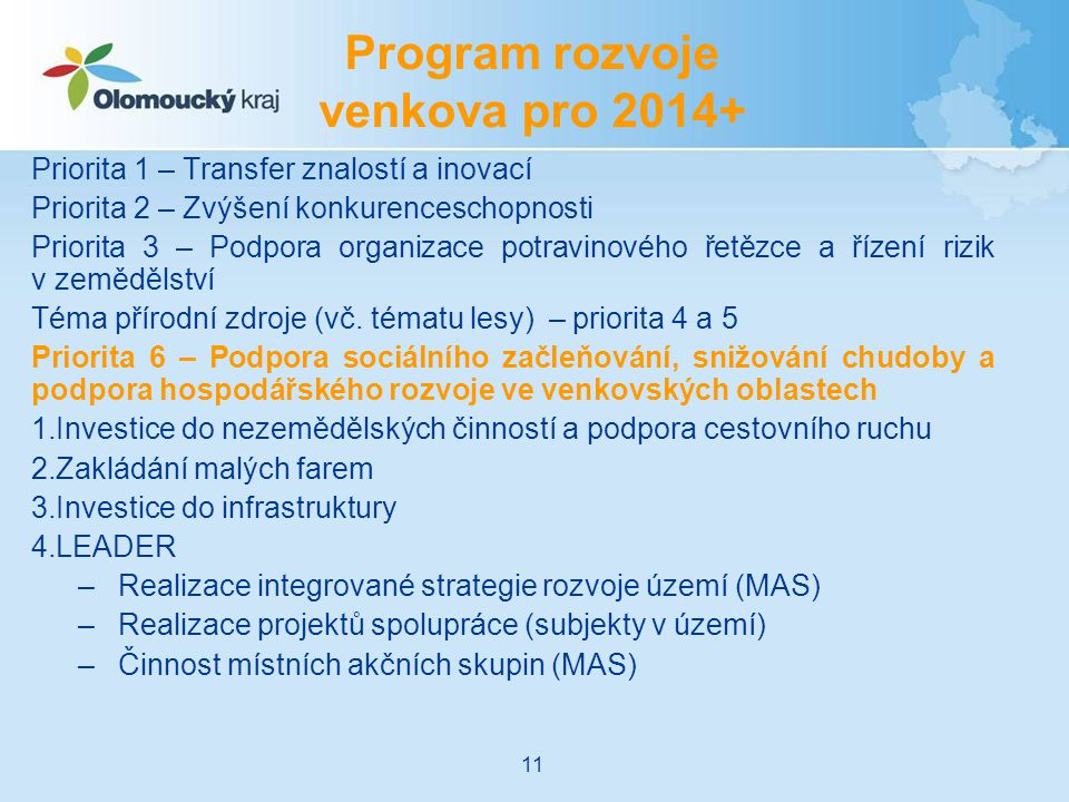 Program rozvoje venkova pro 2014+