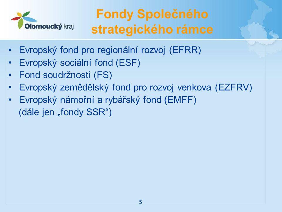 Fondy Společného strategického rámce