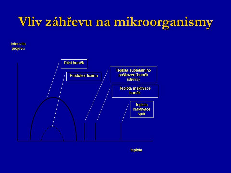 Vliv záhřevu na mikroorganismy