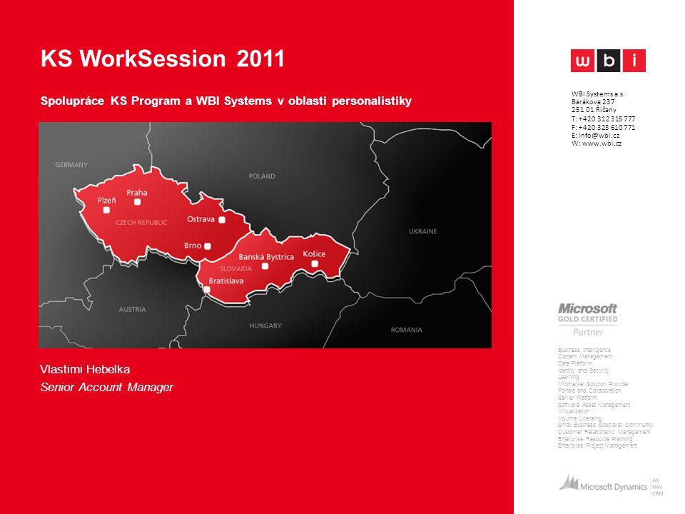 Spolupráce KS Program a WBI Systems v oblasti personalistiky