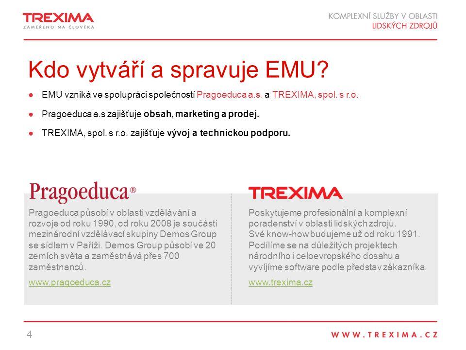 Kdo vytváří a spravuje EMU